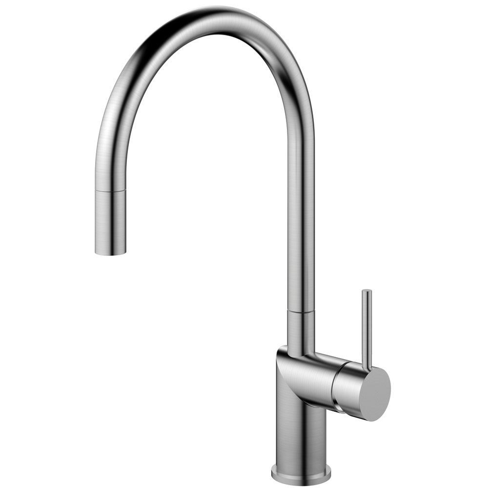 Edelstahl Küche Wasserhahn Ausziehbarer Schlauch - Nivito RH-100-EX