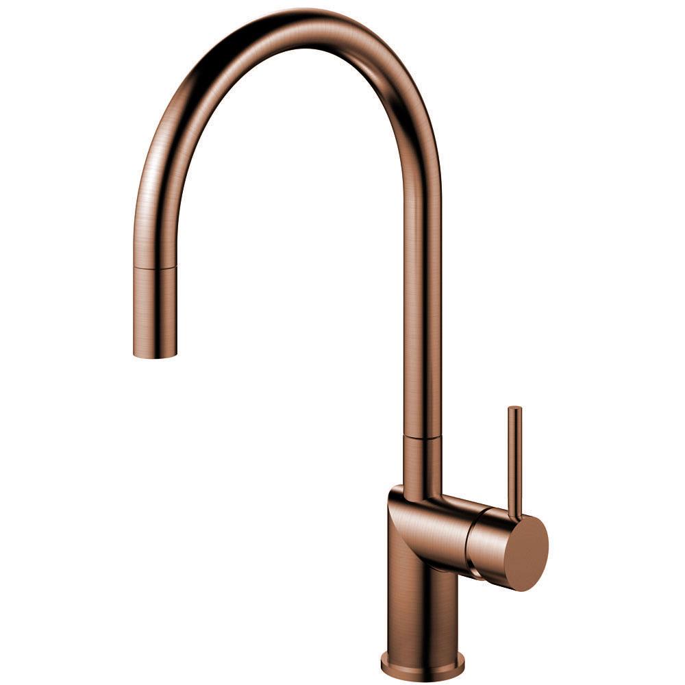 Kupfer Wasserhahn Ausziehbarer Schlauch - Nivito RH-150-EX