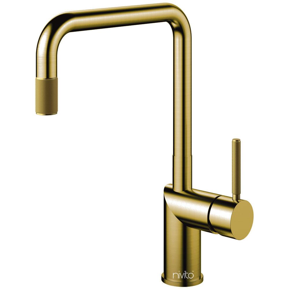 Messing/Gold Küche Wasserhahn - Nivito RH-340-IN