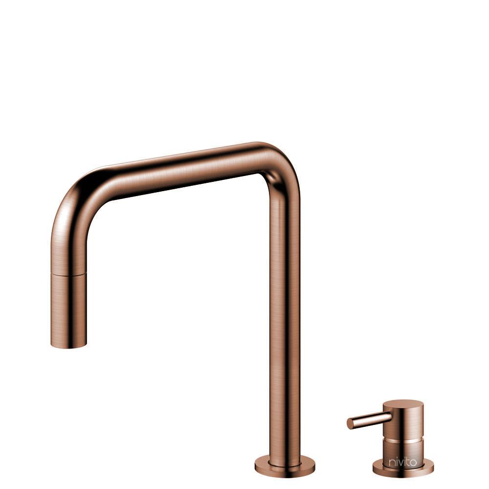 Kupfer Armatur Ausziehbarer Schlauch / Getrenntes Körper/Rohr - Nivito RH-350-VI