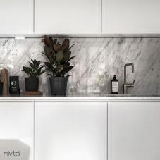 Edelstahl Küchenarmatur - Nivito 1-RH-300