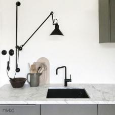 Küchenarmatur schwarz