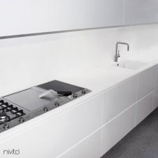 Gebürstet stahl wasserhahn mischbatterie