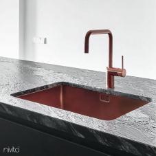 Kupfer Küche Waschbecken - Nivito 1-CU-500-BC