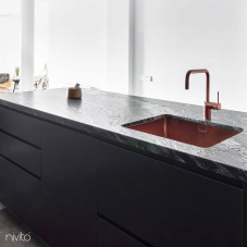 Kupfer Küche Waschbecken - Nivito 2-CU-500-BC