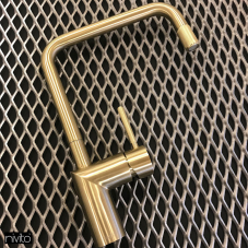 Messing/Gold Küchenarmatur - Nivito 1-RH-340-IN