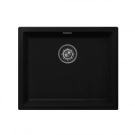 Schwarz Küchenbecken/Küchenspülen - Nivito CU-500-GR-BL