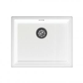 Weiß Küchenbecken/Küchenspülen - Nivito CU-500-GR-WH