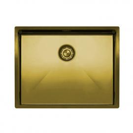 Messing/Gold Küchenbecken/Küchenspülen - Nivito CU-550-BB