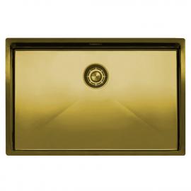 Messing/Gold Küchenbecken/Küchenspülen - Nivito CU-700-BB