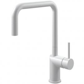 Weiß Küchenarmatur Ausziehbarer Schlauch - Nivito RH-330-EX
